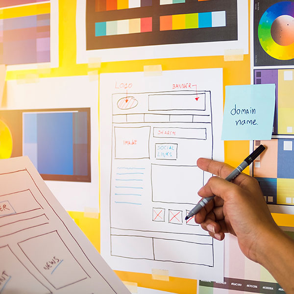 Website Design Site Mapping and Prototype